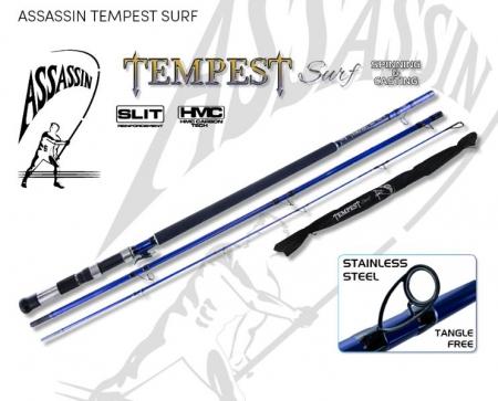 ROD ASS TEMPEST SURF 13' 5-6OZ 3PC