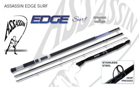 ROD ASS EDGE SURF 12' SB 4-5OZ SPIN 3P