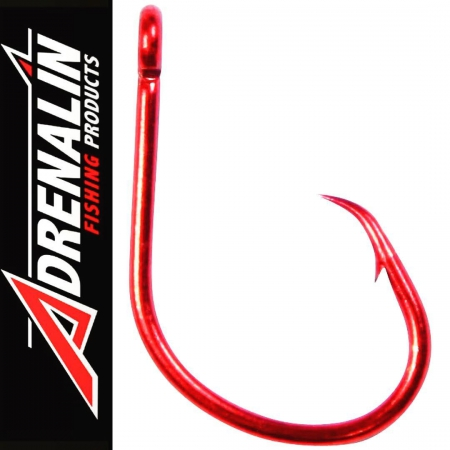 ADRENALIN CIRCLE HOOK RED