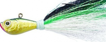 SPRO BUCKTAIL 1/2 OZ GREEN SHAD
