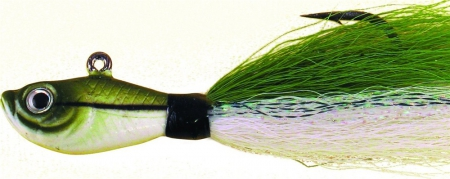 SPRO BUCKTAIL JIG 2oz SAND EEL GREEN