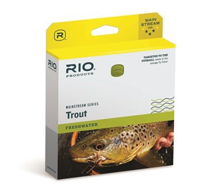 FLY LINE RIO MAINSTREAM INTER SINK WF-6IS